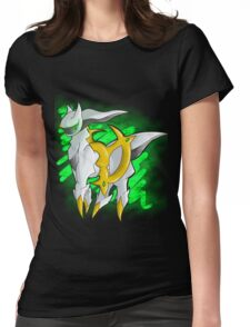 Arceus Womens Fitted T-Shirt