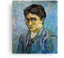 Harry Potter Van Gogh Canvas Print