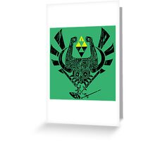 Zelda Mash-up Greeting Card