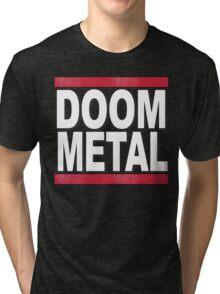 Doom Metal Tee Tri-blend T-Shirt