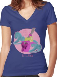 It's... Pink Women's Fitted V-Neck T-Shirt