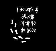 i solemnly swear that i am up to no good by fabianb