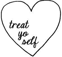 treat yo self by casmar