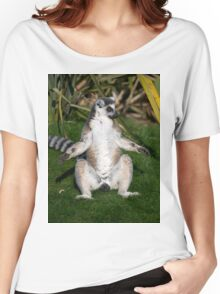I'm Not Kidding...........That Photographers Lens is THIS Big. Women's Relaxed Fit T-Shirt