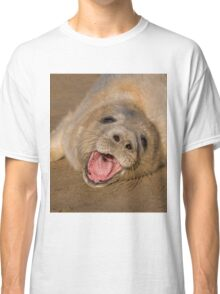 Seal Pup On The Beach At Donna Nook Classic T-Shirt