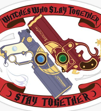 Slay Together, Stay Together - Bayonetta & Jeanne Sticker