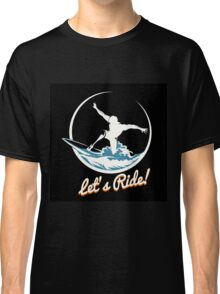 Surfer Print Design Classic T-Shirt
