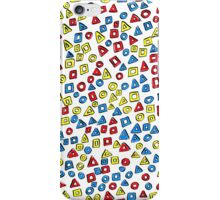 Triangles Circles and Squares #2 iPhone Case/Skin