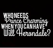 Prince Charming - Will Herondale by booknerdmerch