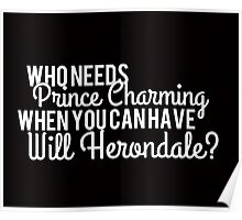 Prince Charming - Will Herondale Poster