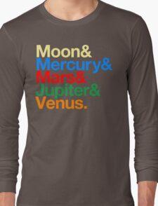 Sailor Senshi x Helvetica (Color) T-Shirt