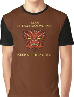 Smaug Quotes-Colbert Report- old school worm Graphic T-Shirt