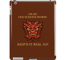 Smaug Quotes-Colbert Report- old school worm iPad Case/Skin