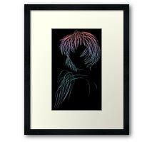 Rei Digital Art Framed Print