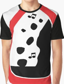 Guitar Pick / Plectrum: Traffic sign falling rocks Graphic T-Shirt