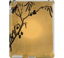 Catkin on paper iPad Case/Skin