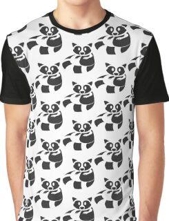Raccoon Been Caught Graphic T-Shirt