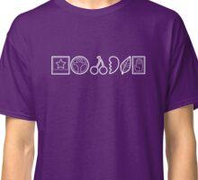 Team Joestar Symbols [White Ver.] Classic T-Shirt