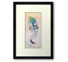 Journeying Spirit (ermine) Framed Print