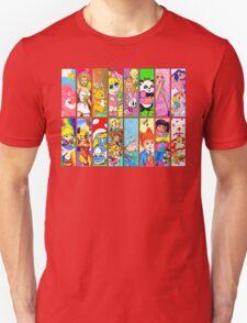 80s Girls Totally Radical Cartoon Spectacular!!! Unisex T-Shirt