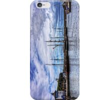 Tall Ships in Whitehaven Harbour iPhone Case/Skin