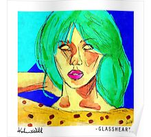 Glassheart (Blue/Green) Poster