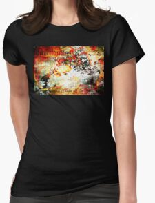 dissipate. Womens Fitted T-Shirt