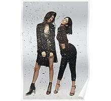 Kendall Jenner and Kylie Jenner Photoshoot Poster