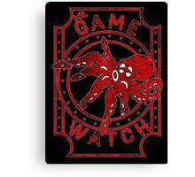 mr. game & watch Canvas Print
