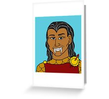 Red Viper Greeting Card