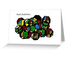 South Ambulance 3 Greeting Card
