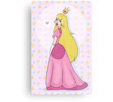 Princess Peach! Metal Print