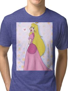 Princess Peach! Tri-blend T-Shirt