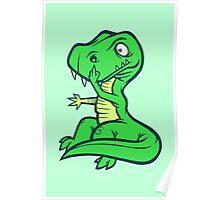 T-Rex Booger Poster