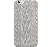Cable Knit iPhone Case/Skin