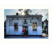 The Old Bank House Art Print