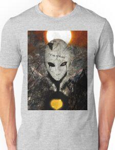 """I'm okay"" Facade Unisex T-Shirt"