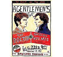 gentlemen's fight Photographic Print