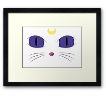 Sailor Moon - Artemis's Face Framed Print