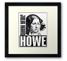 Julia Ward Howe Framed Print