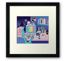 Love Obsession Framed Print