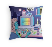 Love Obsession Throw Pillow