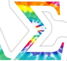 Alpha Sigma Tau - Tie Dye Sticker