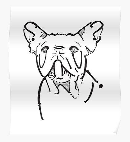 Frenchie Type Poster