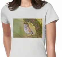 Brown Thornbill Womens Fitted T-Shirt