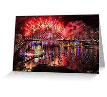 Sydney NYE Fireworks 2015 # 15 Greeting Card