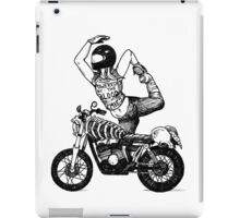 Women Who Ride - Powered by the Blood of my Enemies  iPad Case/Skin