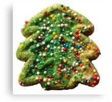 Christmas Cookie 1 Canvas Print