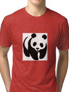 Panda animation Tri-blend T-Shirt