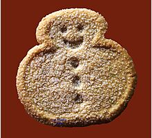 Christmas Cookie 4 Photographic Print